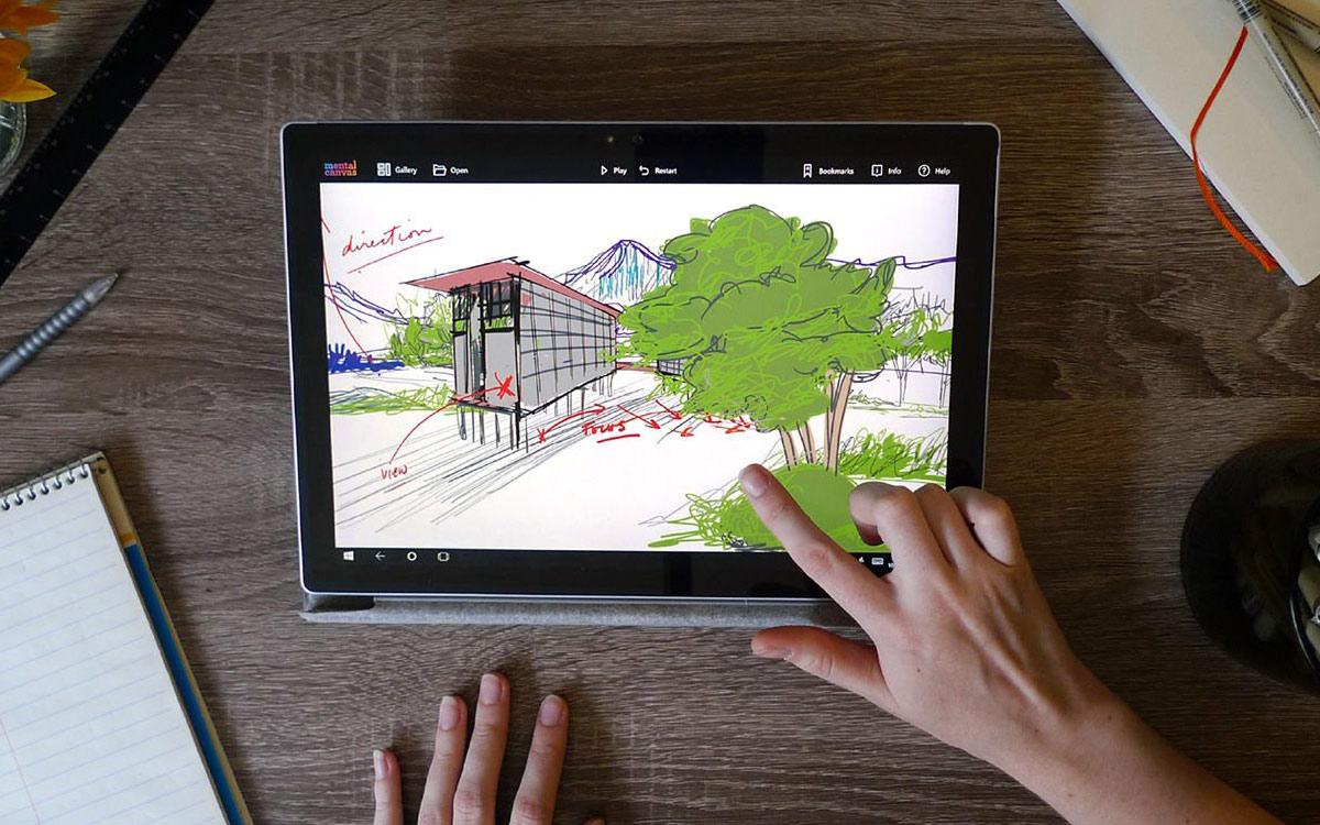 Mental Canvas - un outil de dessin en 3D