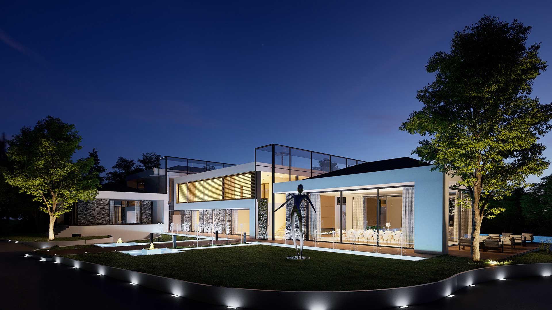 Image De Synth Se Pour Promo Immobili Re Villa De Luxe