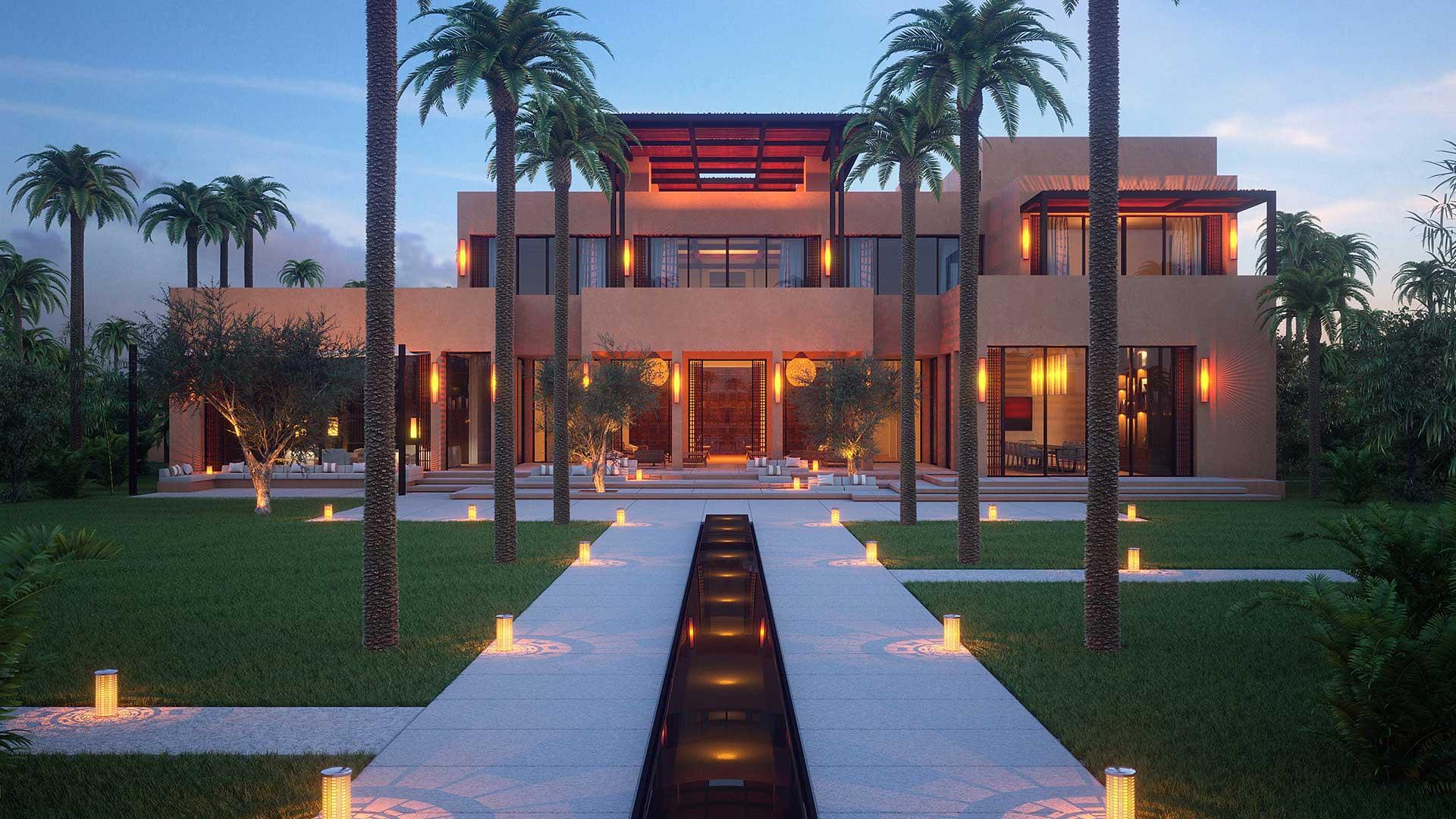 Graphisme 3d rendu image de synth se villa maroc - Appartement luxe en californie horst architects ...