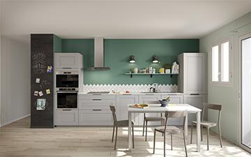 Image promotionnelle 3D d'une cuisine
