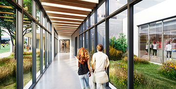 Studio 3D Lyon - Création photo 3D d'un couloir