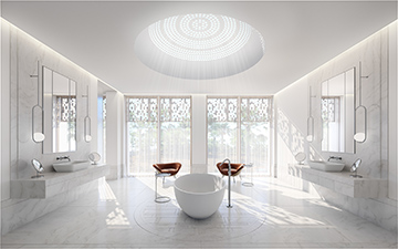 Perspective Immobiliere 3d Chambre Appartement De Luxe