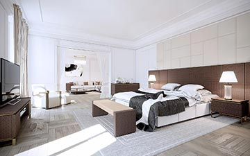 Création Du0027image 3D De Chambre Pour Un Projet De Villa De Luxe